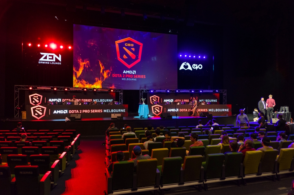 eSports Dota 2 Pro Series in Melbourne